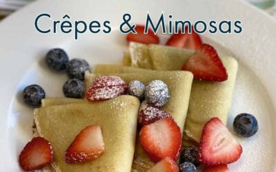 Back by Popular Demand: Crêpes + Mimosas for Mother's Day Weekend
